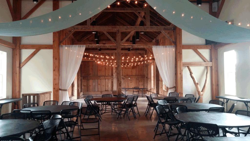 ceiling event decor in columbus ohio at advantage events