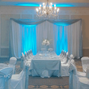 pipe and drape in columbus ohio at advantage events
