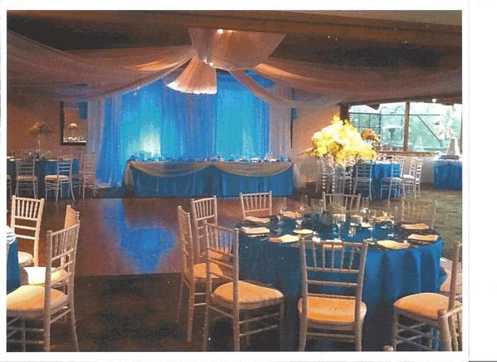 wedding at the boat house in columbus ohio at advantage events