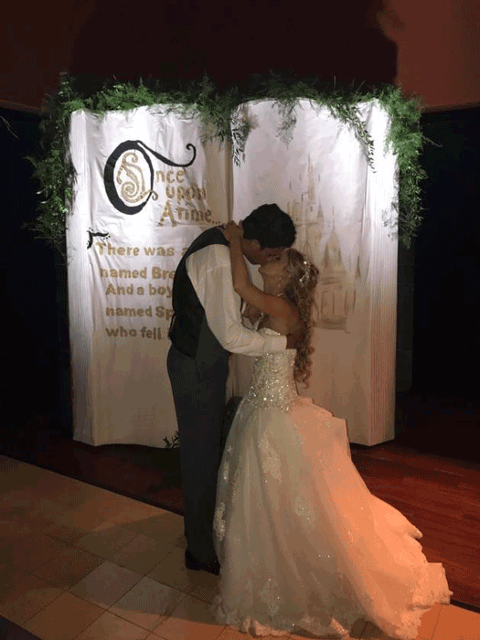custom wedding backdrops in columbus ohio at advantage events