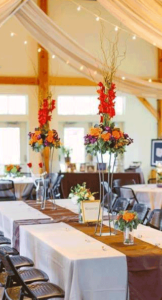flower vase and center pieces in upper arlington ohio at advantage events