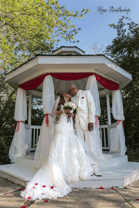 out door wedding decor in columbus ohio at advantage events
