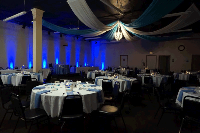 uplighting for rent in ohio at advantage events