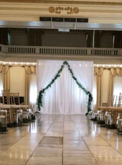 westin wedding decor in columbus ohio at advantage events