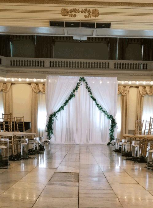 westin wedding decor in columbus ohio at advantage events
