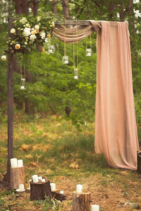 wedding arbor decor in columbus ohio at advantage events