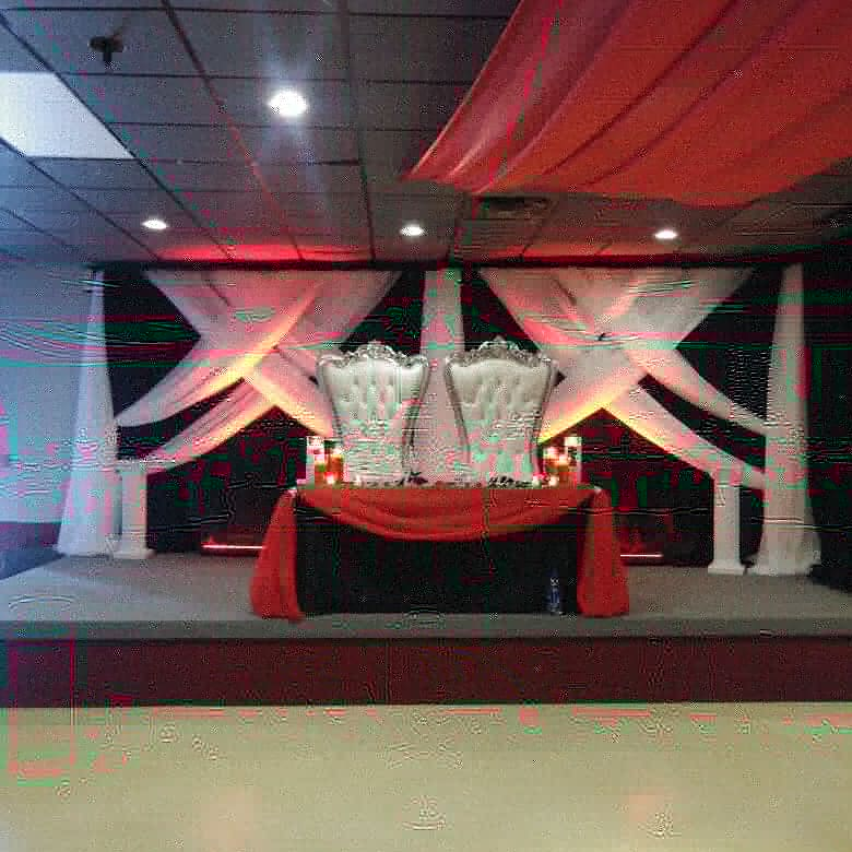 wedding backdrop columbus ohio